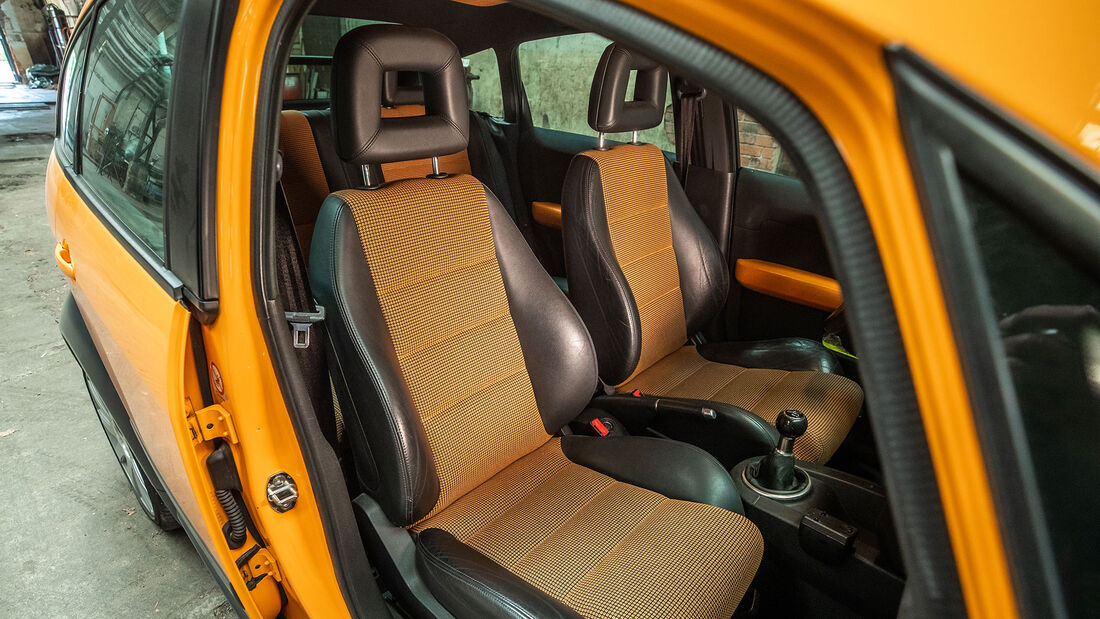 Audi A2 (8Z), (2002-2005), Fahrersitz, Innenraum