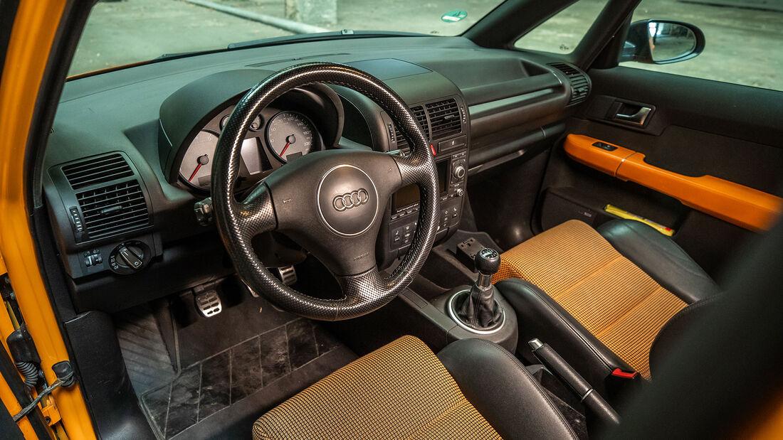 Audi A2 (8Z), (2002-2005), Innnenraum, Cockpit