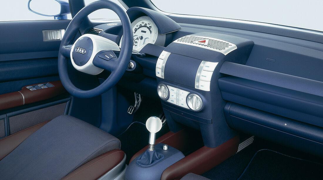 Audi A2, Auto der Woche, AL2 Open End, Innenraum