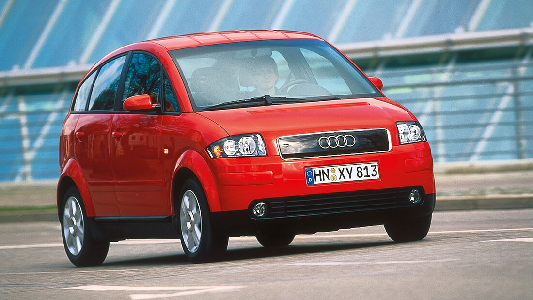 Audi A2, Frontansicht