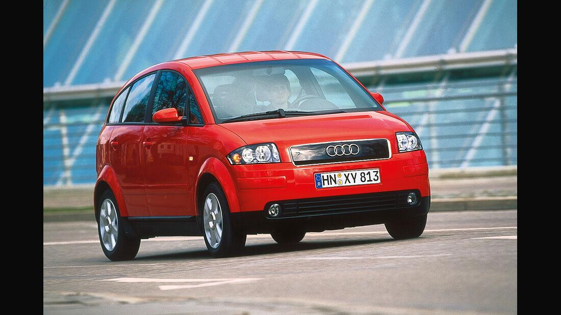 Audi A2, Frontansicht