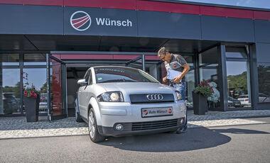 Audi A2, Gebrauchtwagen-Check, asv2018
