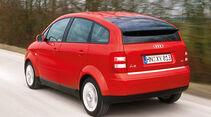 Audi A2, Heckansicht