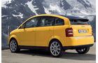 Audi A2, Seitenansicht