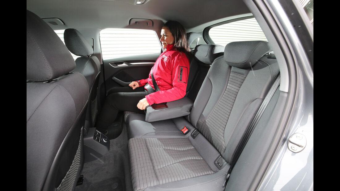 Audi A3 1.4 TFSI, Fondsitze