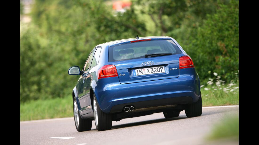 Audi A3 1.4 TFSI, Heck