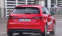 Audi A3 1.4 TFSI, Heckansicht