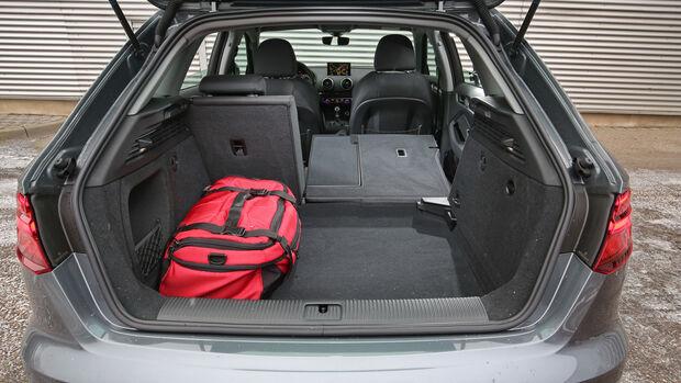 Audi A3 1.4 TFSI, Kofferraum