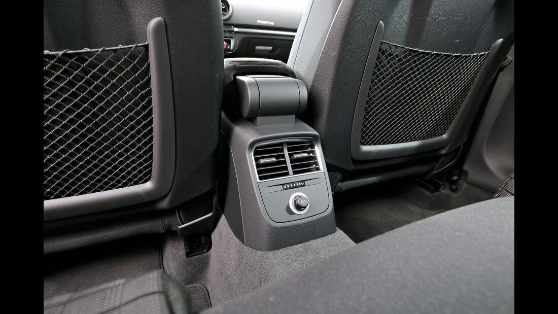 Audi A3 1.4 TFSI, Luftausströmer