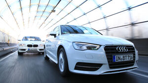 Audi A3 1.6 TDI Ultra, BMW 116d Efficient Dynamics Edition,