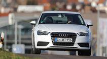 Audi A3 1.6 TDI Ultra,  Frontansicht