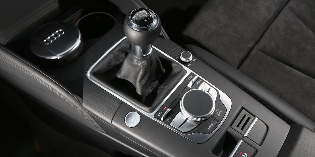Audi A3 1.6 TDI Ultra, Schalthebel