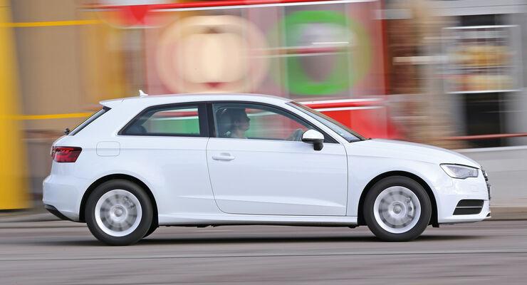 Audi A3 1.6 TDI Ultra,  Seitenansicht