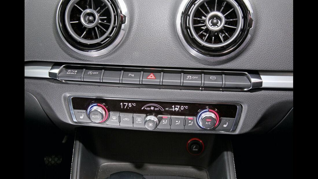 Audi A3 1.8 TFSI, Bedienleiste, Klimaautomatik