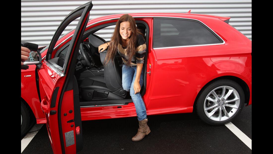 Audi A3 1.8 TFSI, Fond, aussteigen