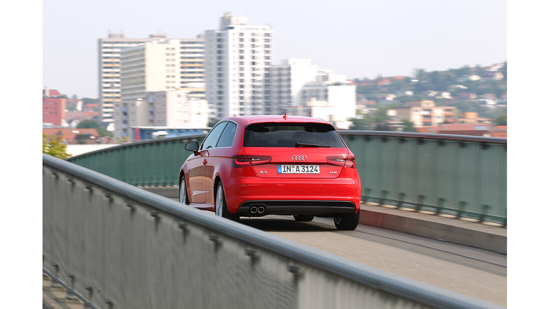 Audi A3 1.8 TFSI, Heck