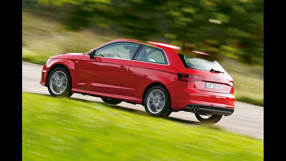 Audi A3 1.8 TFSI, Heckansicht