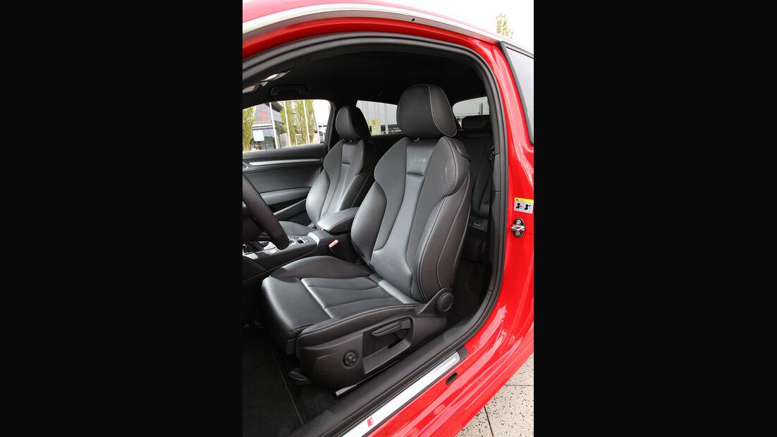 Audi A3 1.8 TFSI, Sitze