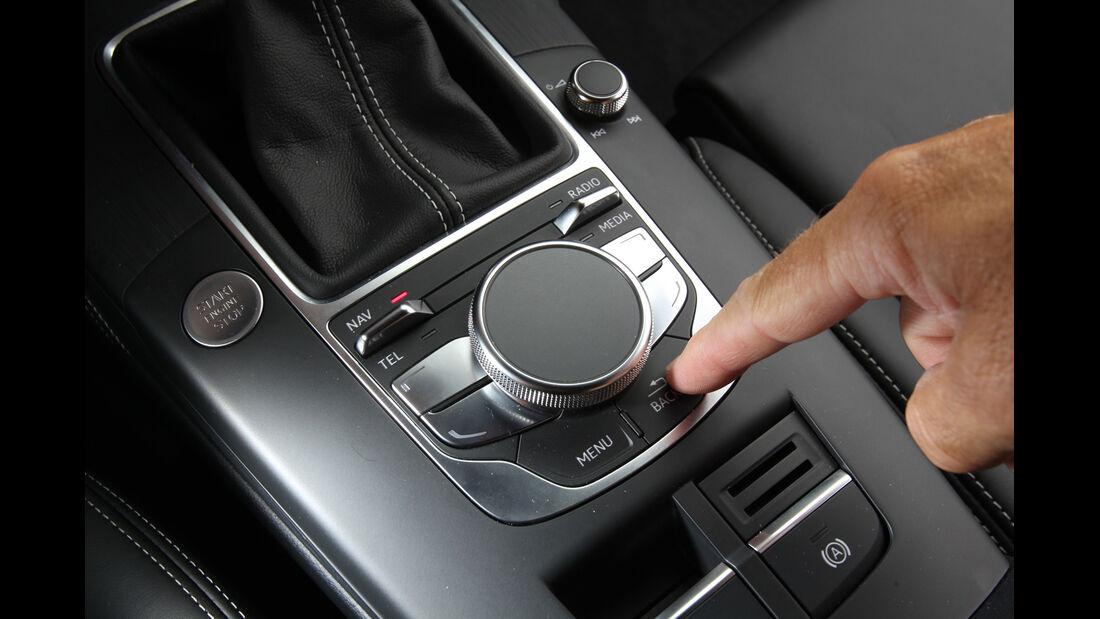 Audi A3 1.8 TFSI, Touchpad