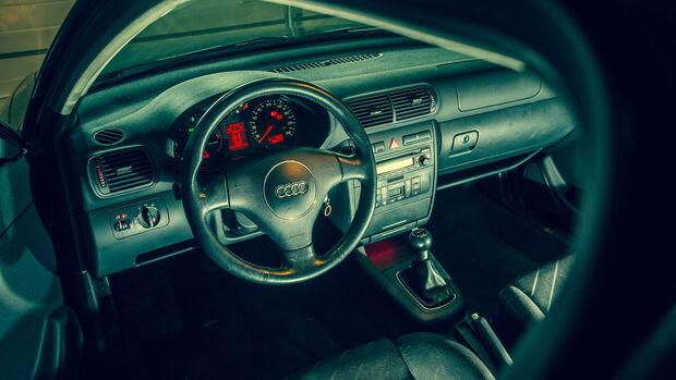 Audi A3 1.9 TDI, Cockpit