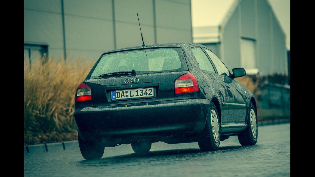 Audi A3 1.9 TDI, Heckansicht