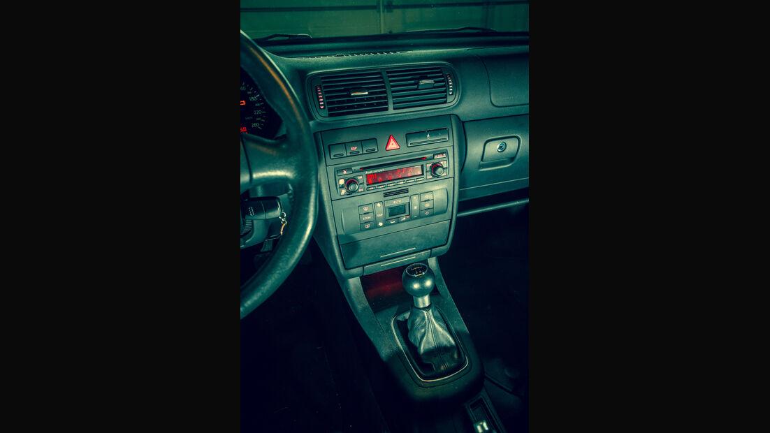 Audi A3 1.9 TDI, Mittelkonsole