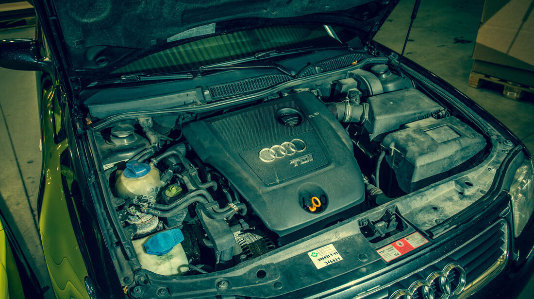 Audi A3 1.9 TDI, Motor