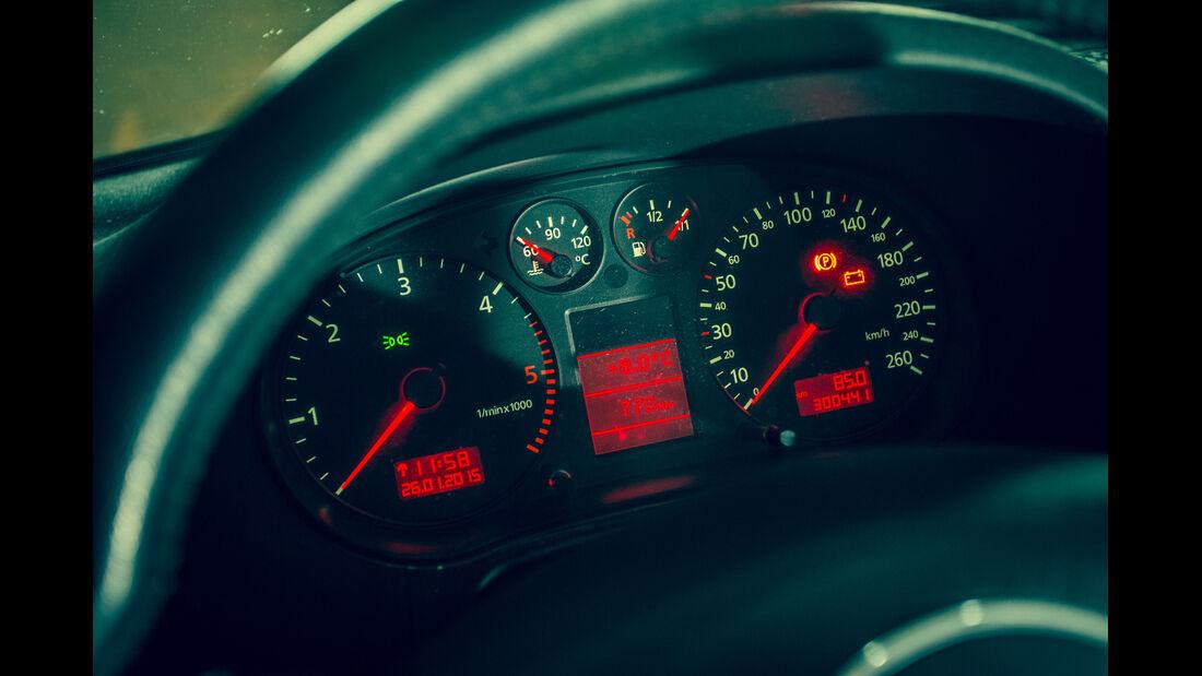 Audi A3 1.9 TDI, Rundinstrumente