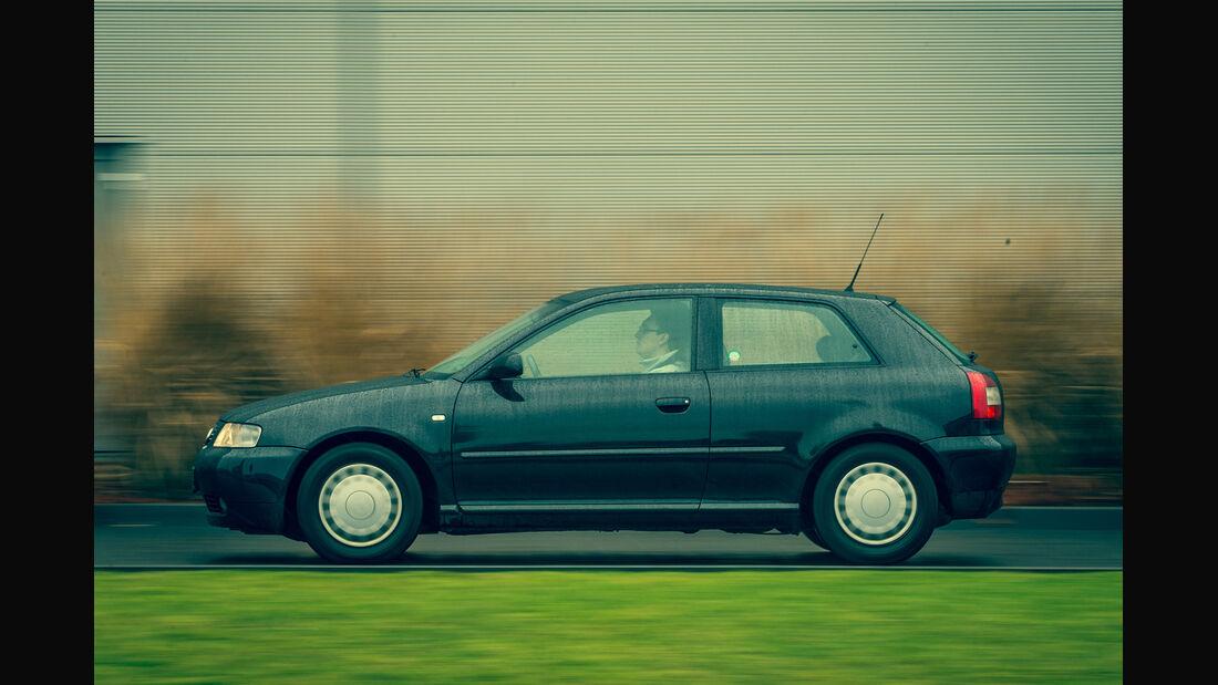 Audi A3 1.9 TDI, Seitenansicht