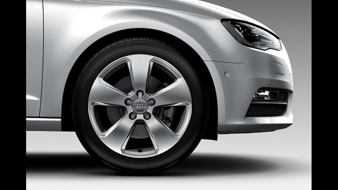 Audi A3, 17-Zoll-Alufelgen