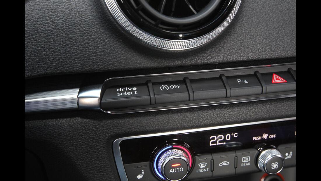 Audi A3 2.0 TDI, Bedienelemente