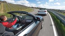 Audi A3 2.0 TDI Cabrio, BMW 220d Cabrio, Impression