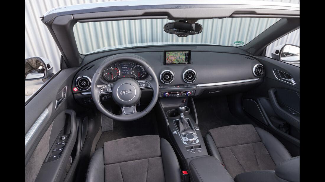 Audi A3 2.0 TDI Cabrio, Cockpit