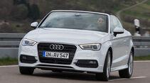 Audi A3 2.0 TDI Cabrio, Frontansicht