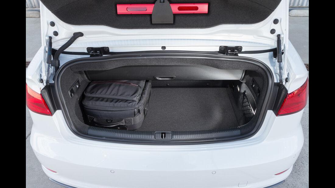 Audi A3 2.0 TDI Cabrio, Kofferraum