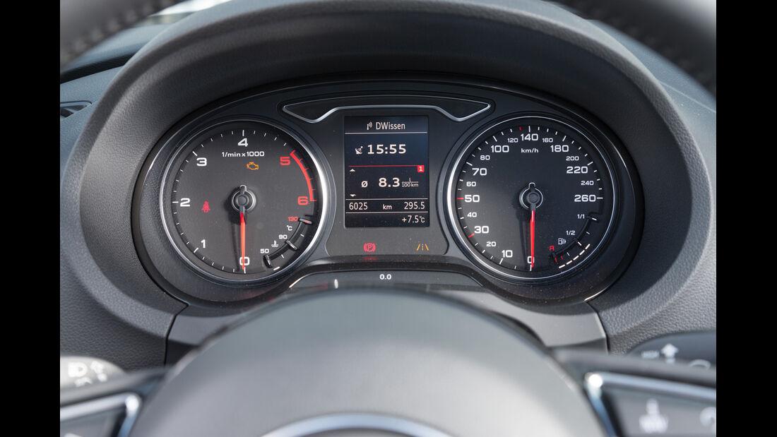 Audi A3 2.0 TDI Cabrio, Rundinstrumente
