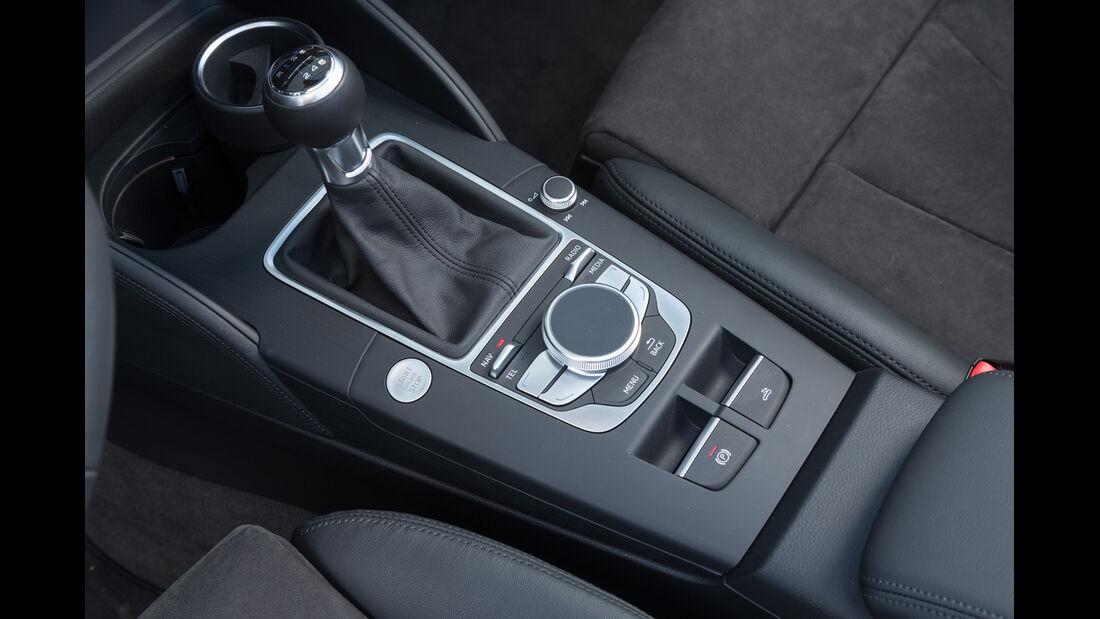 Audi A3 2.0 TDI Cabrio, Schalthebel