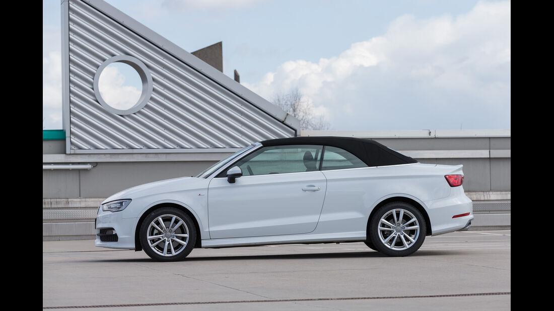 Audi A3 2.0 TDI Cabrio, Seitenansicht