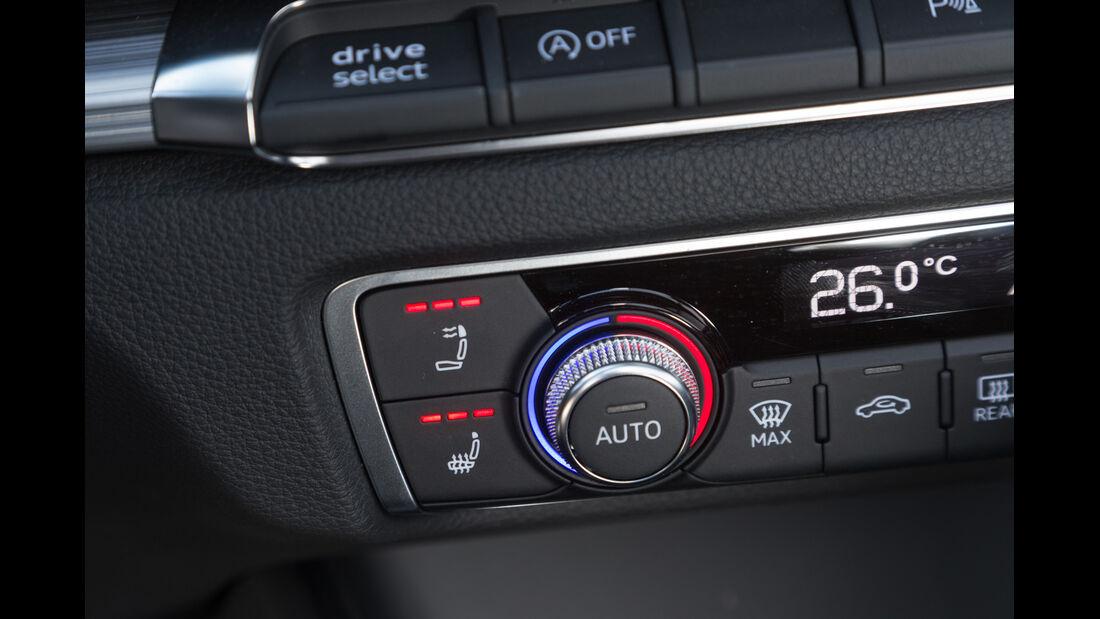 Audi A3 2.0 TDI Cabrio, Temperaturregler