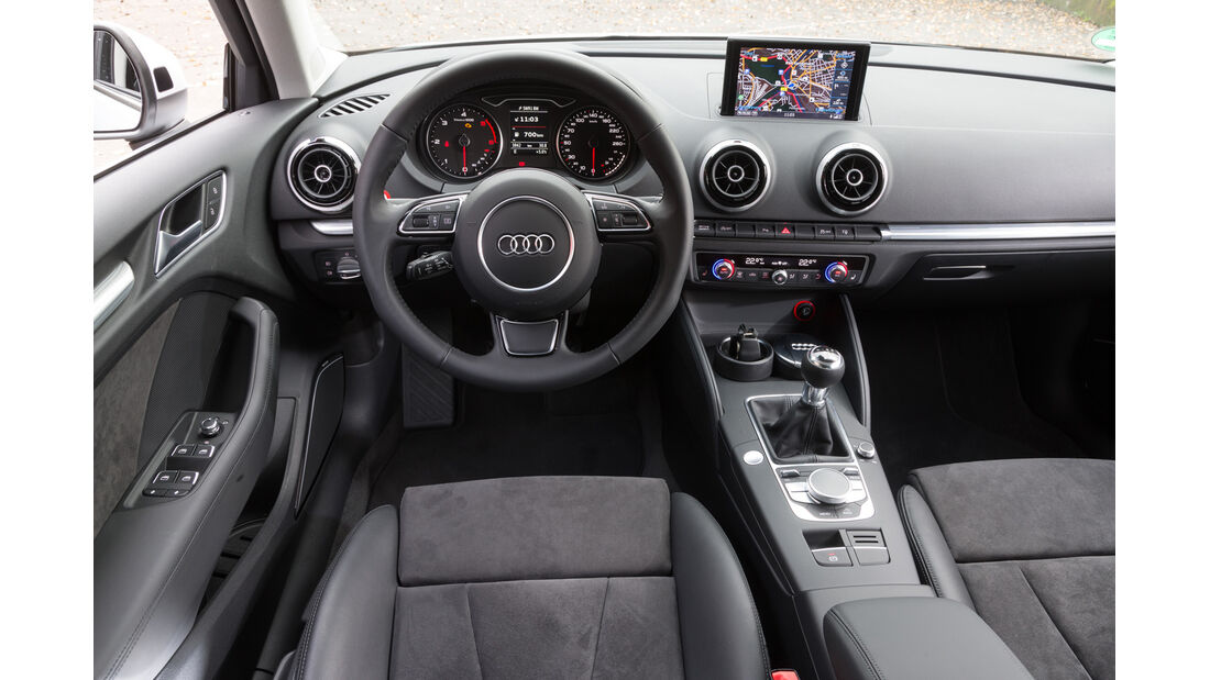 Audi A3 2.0 TDI, Cockpit
