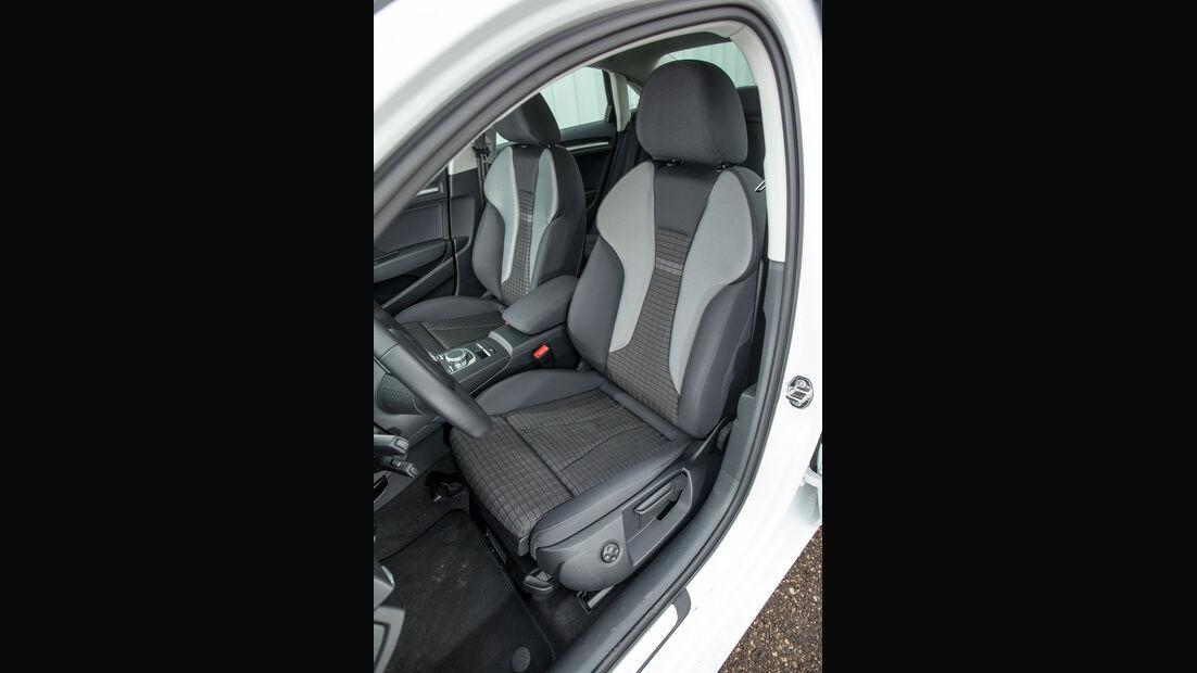 Audi A3 2.0 TDI, Fahrersitz