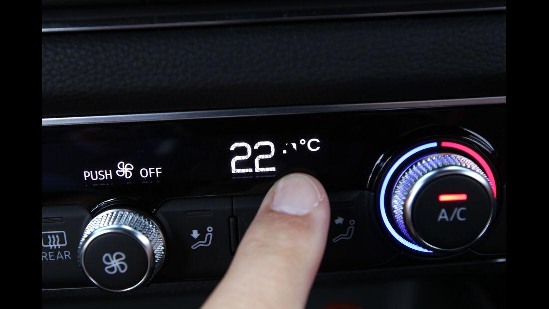 Audi A3 2.0 TDI, Klimaautomatik