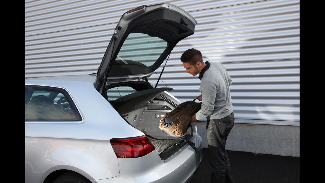 Audi A3 2.0 TDI, Kofferraum