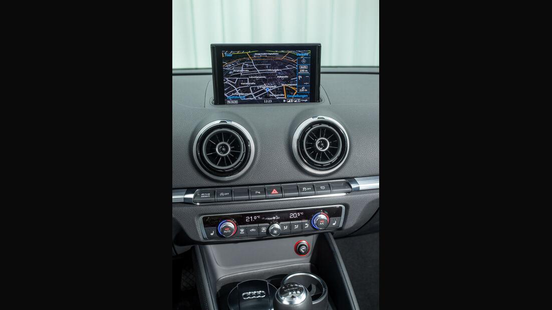 Audi A3 2.0 TDI, Mittelkonsole