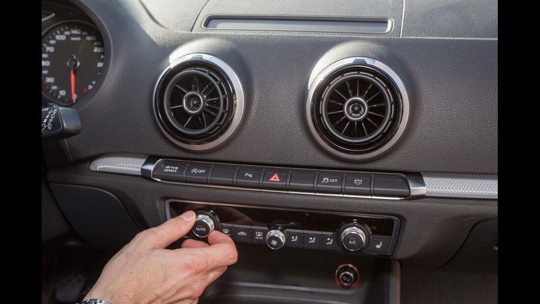 Audi A3 2.0 TDI, Mittelkonsole, Radio