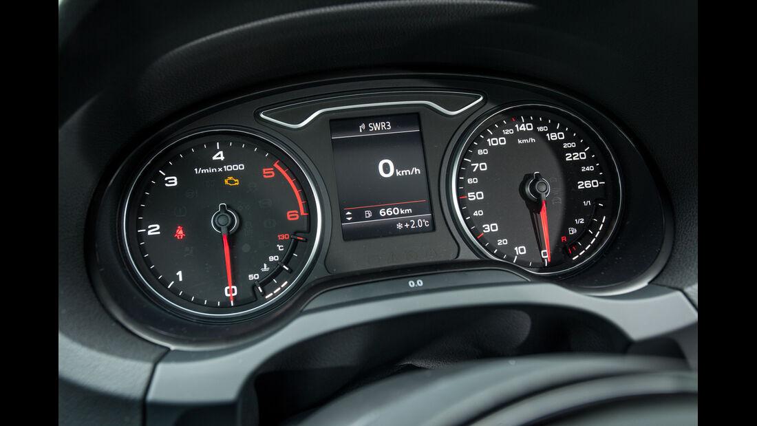 Audi A3 2.0 TDI, Rundinstrumente