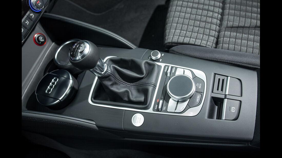 Audi A3 2.0 TDI, Schalthebel
