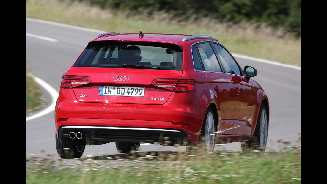 Audi A3 35 TDI Sportback, Exterieur
