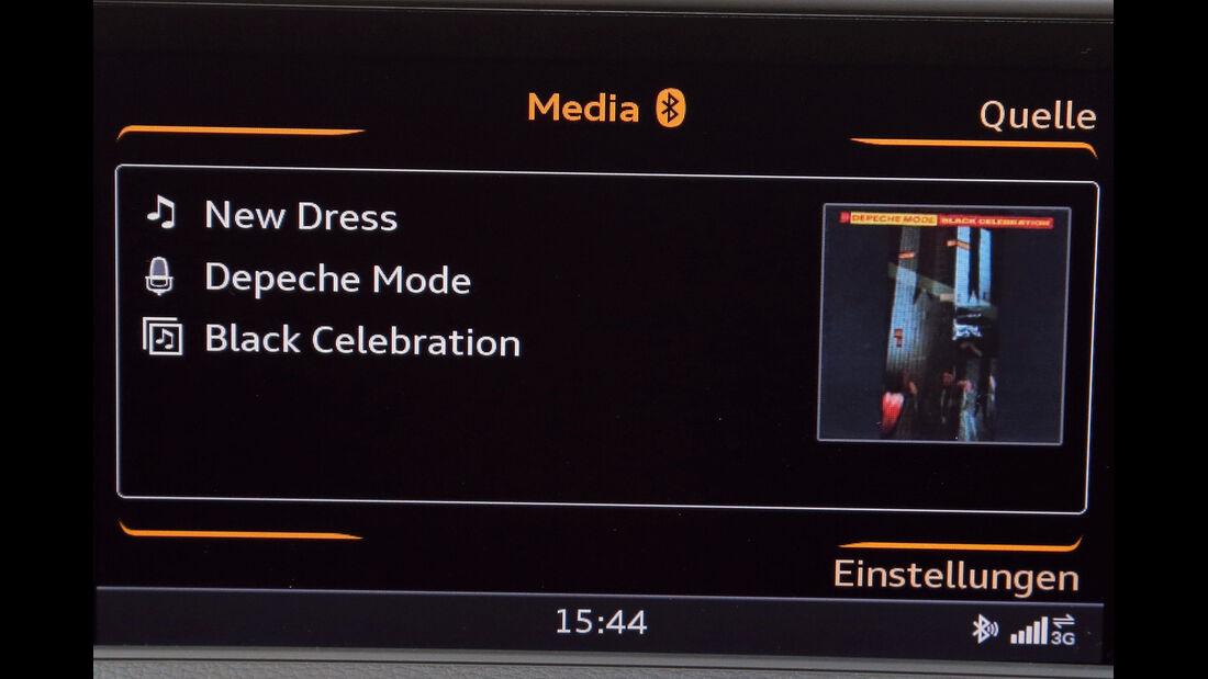 Audi A3, Audio