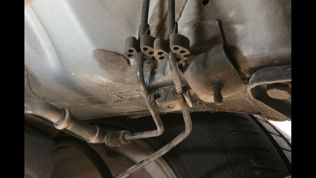 Audi A3, Bremsleitung